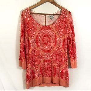 Soft Surroundings Coral Sweater